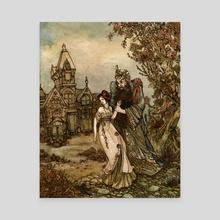 Bluebeard - Canvas by Shelby Elizabeth
