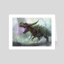 Rotting Regisaur - Art Card by Randy Vargas