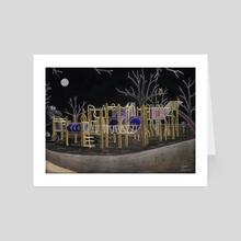 Night - Art Card by Raine Dodds