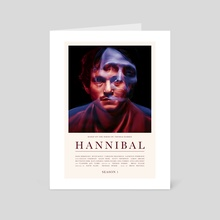 Hannibal - Season 1 - Art Card by Carina Tous