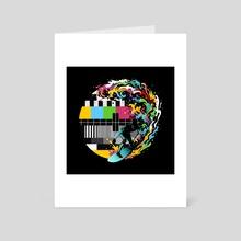 Pattern Surfer - Art Card by Enkel Dika