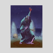 Cultist - Canvas by Jordan Worley