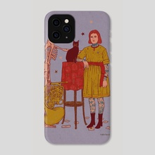 Casual Caturday - Phone Case by Nano Février