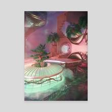 Solitude - Canvas by Blake Kathryn