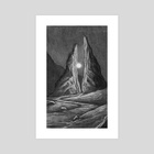 Preluded Checkpoint - Art Print by Cameron Suter