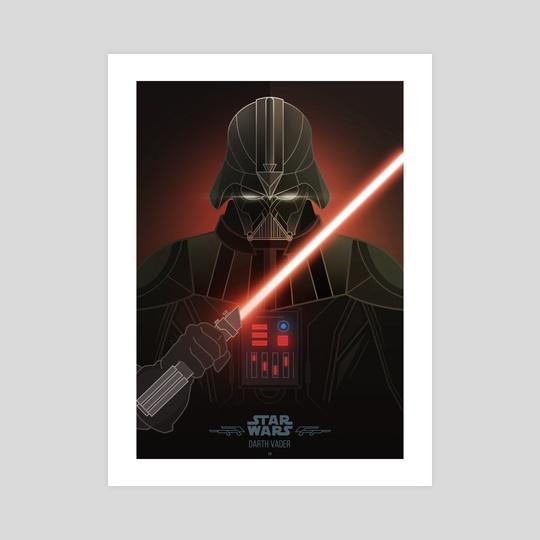 Star Wars Villains - Darth Vader by Jonathan Lam