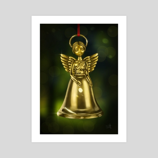 Angel Bell by Eda Herz