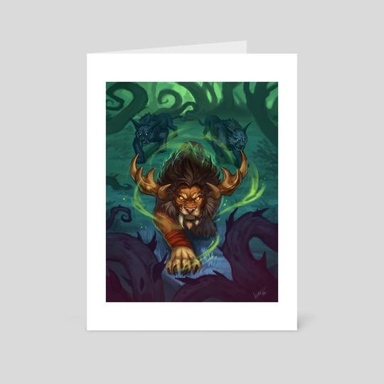 feral druid by cynthia fernandez garcia