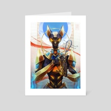 BASTET - Art Card by steelsuit