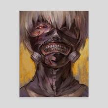 Kaneki Ken - Canvas by Anita kuzay