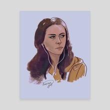 Bella Swan - Canvas by Darkellaine