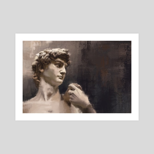 David - Michelangelo by Arte Impressao