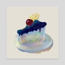 a piece of universe - Canvas by Mona Shin
