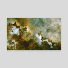 Starless Carina Gold Crop - Canvas by Vilan Nathanson