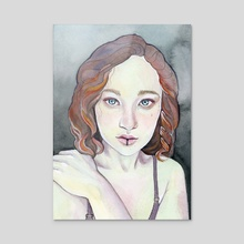 Rusalka - Acrylic by Tess Myers