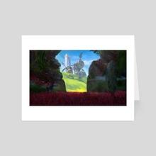 ACA - Red Canyon - Art Card by PapayouFR