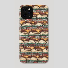 Cheeseburger Picnic - Phone Case by Dream Green