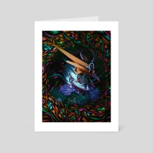 Essence of the samurai - Art Card by Marischa Becker