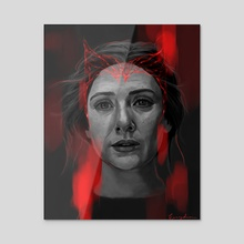 Scarlet Witch (Ver. 4) - Acrylic by Eurydia