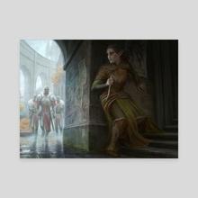 MtG - Ochran Assassin - Canvas by Anna Steinbauer
