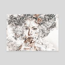 Candide - Canvas by Romain Bonnet