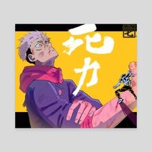 YUJI & MAHITO - Canvas by Taku Waku