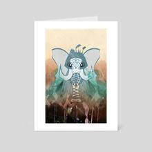 Mammoth Skin - Art Card by AJ Estrada