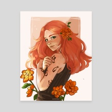 Clary Fray  - Canvas by gatovtina