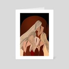 Sunset scars - Art Card by Daria Liapko