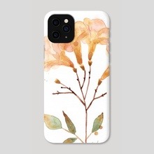 Yellow Flowers - Phone Case by Sabrina Tao