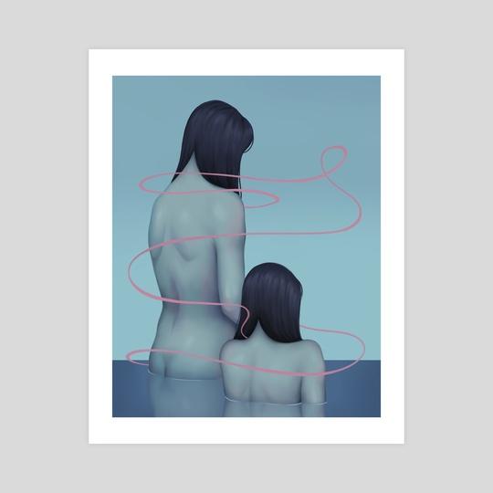 Quiet Blue by Haylee Morice
