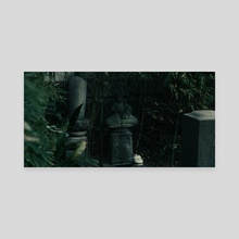 Dark Temple4_cinema - Canvas by Darryl Friemann