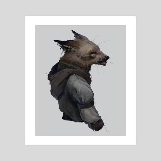 Fox fella by Juho Laitila
