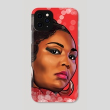 Lizzo Painted Portrait - Phone Case by Kimberly Brumble