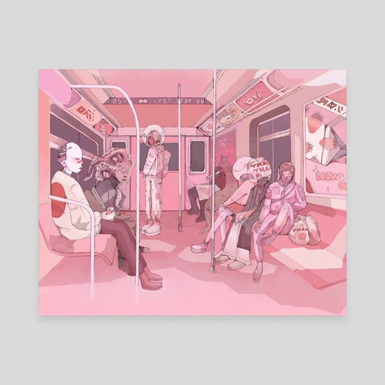 The Commute by Paskalina Kinanthi