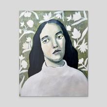 Beauty of Innocence - Acrylic by Misty  Mawn