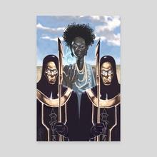 Priestess Nubia - Canvas by William Jamison
