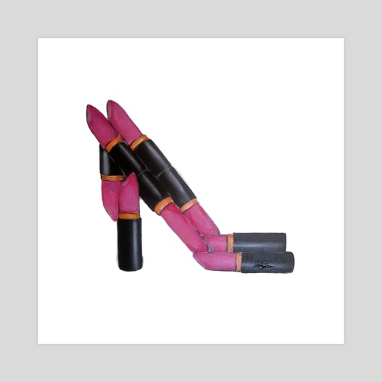Lipstick shoe by whitney anderson