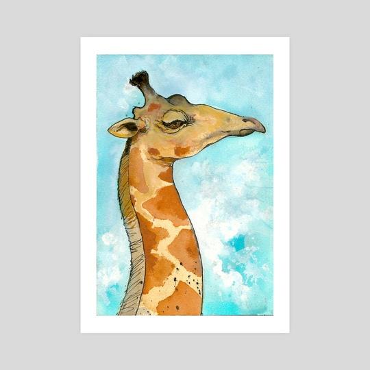 Giraffe by Shelby Ulibarri