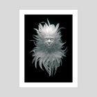Feather N 01 - Art Print by Jean-Michel Bihorel