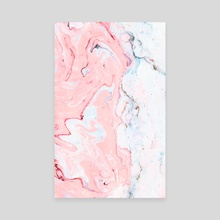Marble Love - Canvas by 83 Oranges