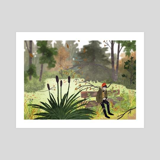 park in autumn by Lara Paulussen