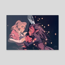 Catradora - Acrylic by Keezy Young