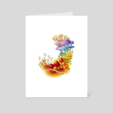 Pride of Fungus - Art Card by Sean Vidal Edgerton