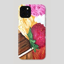 Ice Cream Dream - Phone Case by adam santana