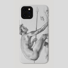 Catch fish - Phone Case by Hongtao Huang