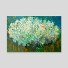 wish tree - Acrylic by Kristian Leov