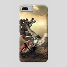 merry horse - Phone Case by Even Liu