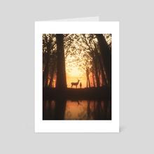 Forest Tale. - Art Card by Mikko Raima