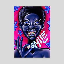 SMILE  - Canvas by Mithsuca Berry